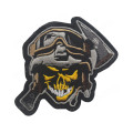 Rubber Cool Funny Badges Motorcycle Embroidery Patches