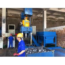 Máquina de bloques de limaduras de metal en polvo de cobre de alta resistencia