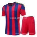 2017 mejor precio nueva jersey fútbol uniforme de alta calidad fuente de la fábrica