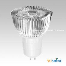 LED-Scheinwerfer MR16 3,5W Aluminiumgehäuse