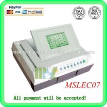 Zwölf Kanal EGC Maschine Automatische Analyse der digitalen EKG Maschine (MSLEC07)