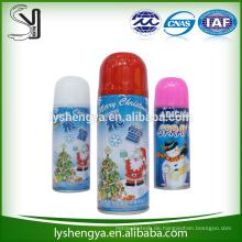 Schneespraydekoration für Weihnachtsfest und Baum