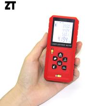 Telêmetro laser de medição portátil 60M com nível de bolha