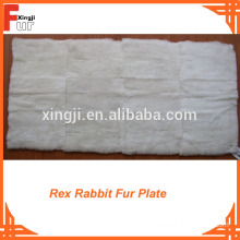 Factory Supply Rex Rabbit Fur Plate