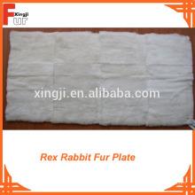 Fornecimento de fábrica Rex Rabbit Fur Plate