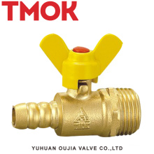 Butterfly handle outer wire gas valve