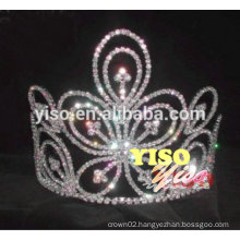 costume wedding bride crystal pageant butterfly tiara