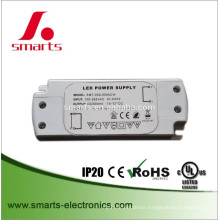 constant current led driver 500ma 20w IP67 LED bulb driver with 2 year warranty