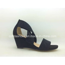Black Classic Simple Lady Fashion Sandal