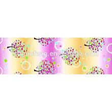 T / C 50/50 impressão personalizada poliéster / algodão tecido estampado para lençol