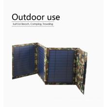 Carregador solar solar do painel 15W do portátil ao ar livre para o móbil