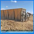 Galvanized military Hesco barrier for sale