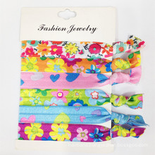 Hair Accessories Ribbon Elastic Hair Ties (HEAD-330)