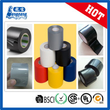 Ruban adhésif en tube noir PVC