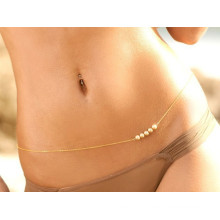 trending hot products 2015 pearl waist chain sexy beach body jewelry