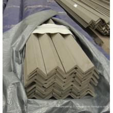 Barre d'angle en acier inoxydable