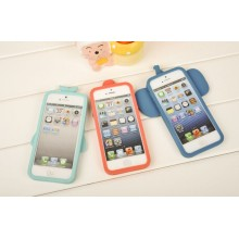 Hot Sale High Quality Sublimation Silicone Case for iPhone 5
