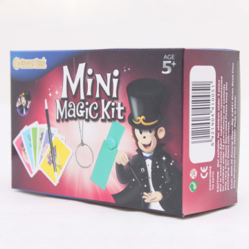 Magic Trick Sets para niños con moneda Wand