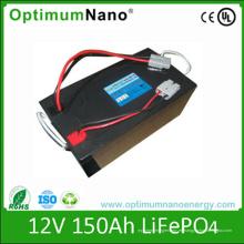 Batería de litio profunda del ciclo 12V 150ah para la aplicación del rv
