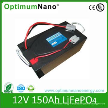 Bateria de lítio profunda do ciclo 12V 150ah para a aplicação do rv