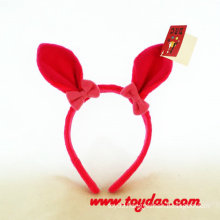 Plush Rabbit Hairpin