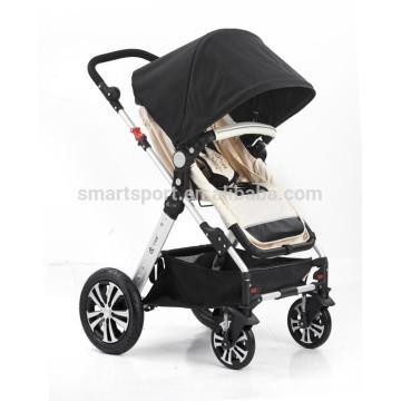 Novo estilo europeu carrinho de bebê de luxo