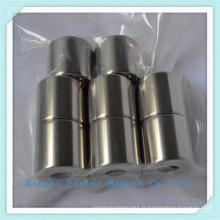 Haute vitesse utilisation moteur néodyme cylindre aimant