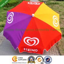 """36"""" modificado para requisitos particulares impresa paraguas al aire libre Playa del sol (BU-0036)"""