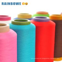Venta caliente acy poliéster aire cubierto de hilo de spandex para hacer calcetines