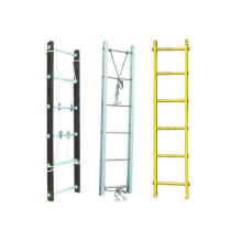 Aluminum folding Steps Horizontal Ladder