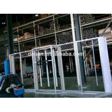косметическая торговой выставки 10x20 дисплей портативный алюминиевый выставка дизайн стенда