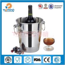 Barware vendedor caliente / cubos de hielo del acero inoxidable / refrigerador del champán