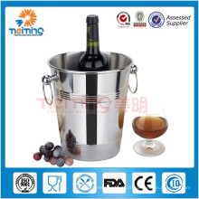Vente chaude barware / seaux à glace en acier inoxydable / refroidisseur de champagne