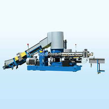 Popular Design for for Pe Film Single Stage Pelletizing Line PP woven bag granulating line supply to Senegal Suppliers