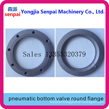 Tank Truck Accessory Pneumatic Bottom Valve Round Flange