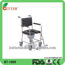 Chaise de commode en acier inoxydable