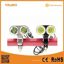 Yzl803 Professional Xml T6 mais poderoso recarregável alumínio frente bicicleta luz