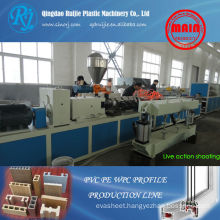 Plastic Wood Machinery, WPC profile production line, PVC profile machinery