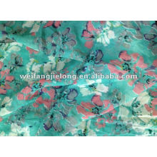 "100% polyester chiffon printed 58"" stock fabric"