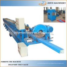 Stahlrohr Kaltumformmaschine für runde Downpipe / Wasser nach unten Rohrherstellung Maschine