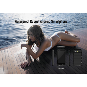 Wasserdichtes robustes Android Smartphone