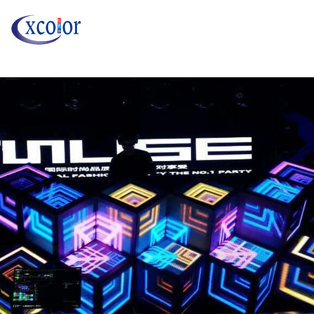 Pantalla Led personalizada Full Color P4 de DJ