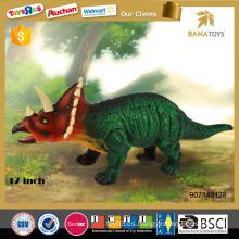 El dinosaurio más nuevo para los cabritos 17 pulgadas de los juguetes del dinosaurio del triceratops fijó