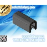 low price, High Quality, EPDM seal strips, U strips, EPDM RUBBER sealing strip durable smooth surface
