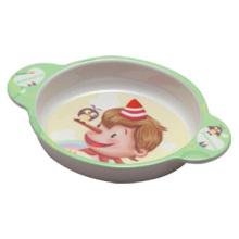 100% меламин посуда - посуда миска детская с ушками/высококачественной Меламиновой посуды (pH2004)
