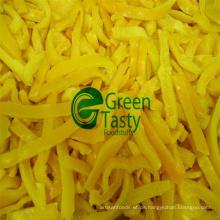 IQF gefrorene frische gelbe Pfefferscheiben in hoher Qualität