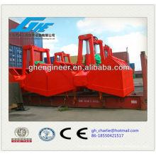Garra eletro-hidráulico com cabo de aço