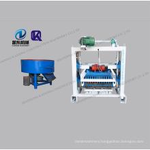 QT4-40 semi-automatic hollow block Interlocking Brick Making Machine