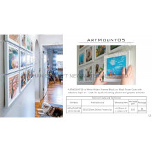 Innovative Square Removal Picture Frames 8X8 Inch for Art Wall