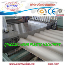 1 - 4 Layers PVC Plastic Wave Roof Tile Extrusion Machine From 15 Years Factory